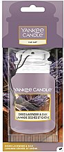 Kup Zapach do samochodu - Yankee Candle Car Jar Dried Lavender & Oak