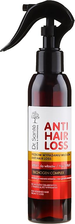 Spray stymulujący wzrost włosów osłabionych i z tendencją do wypadania - Dr. Santé Anti Hair Loss Spray