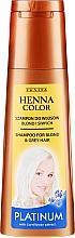 Kup Szampon do włosów blond i siwych - Venita Henna Color Platinum
