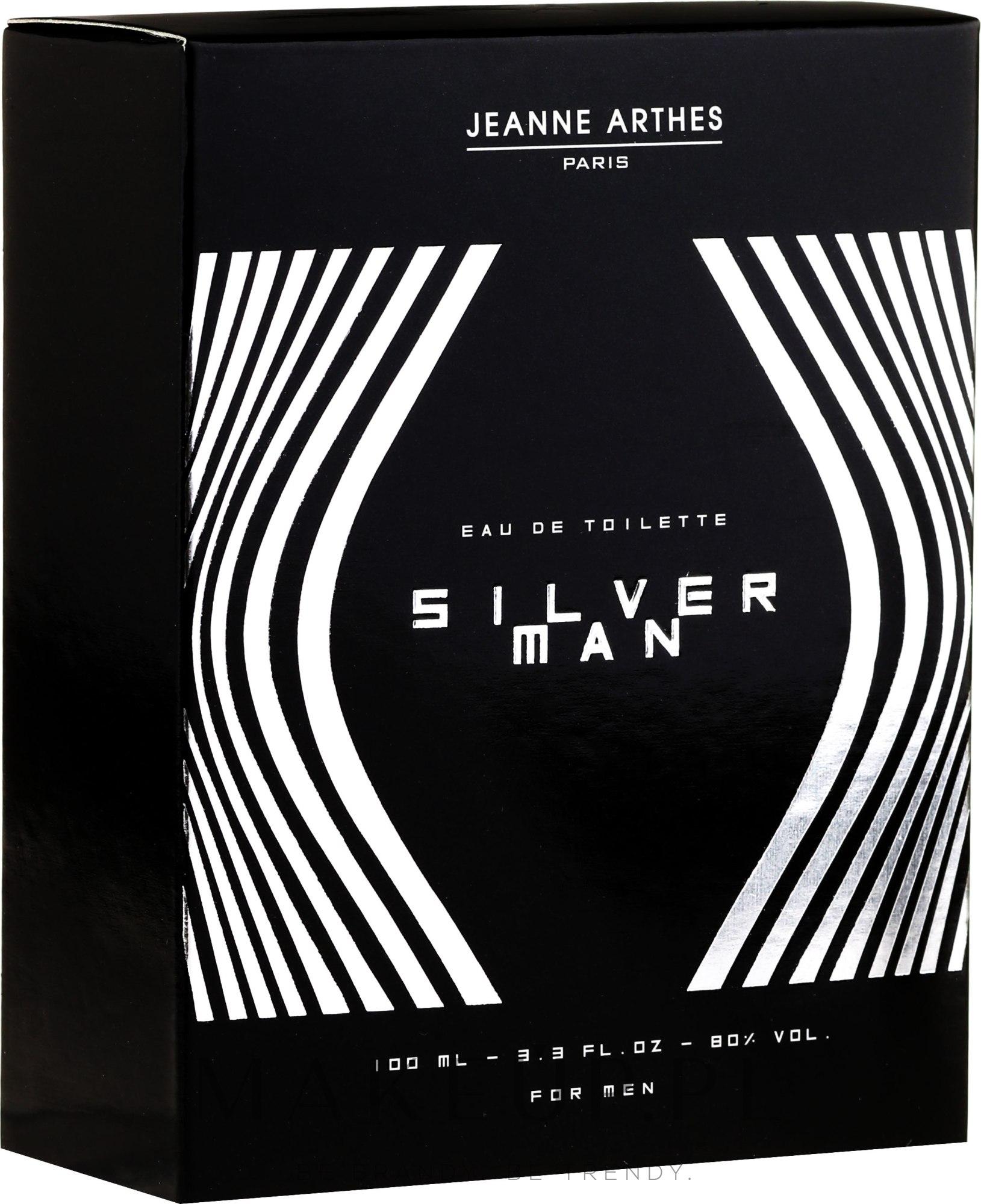 jeanne arthes silver man