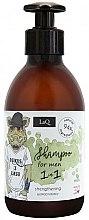 Kup Wzmacniający szampon do włosów dla mężczyzn - LaQ