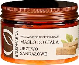 Kup Nawilżająco-regenerujące masło do ciała Drzewo sandałowe - Bosphaera