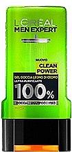 Kup Żel pod prysznic - L'Oreal Paris Men Expert Clean Power Shower Gel