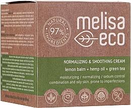 Kup Wygładzający krem normalizujący do twarzy - Melisa Eco