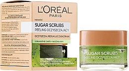 Kup Oczyszczający peeling do twarzy i ust - L'Oreal Paris Sugar Scrubs