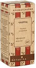 Kup Olejek eteryczny Macierzanka piaskowa - Botanika 100% Thyme Essential Oil