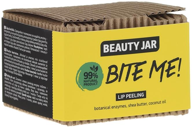 Peeling do ust z olejem kokosowym i masłem shea - Beauty Jar Bete Me Lip Peeling