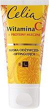Kup Maska odżywczo-liftingująca Witamina C + proteiny mleczne - Celia Witamina C Face Mask