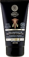 Kup Naturalna pianka-maska 2 w 1 do golenia dla mężczyzn - Natura Siberica For Men Only The Mammoth Shaving Clay & Mask 2-In-1