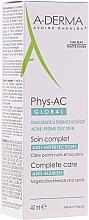 Kup Matujący krem przeciw niedoskonałościom do cery trądzikowej i tłustej - A-Derma Phys-AC Global Anti-Blemish Care