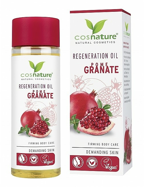 Regenerujący olejek do ciała - Cosnature Regenerating Oil Pomegranate — фото N1
