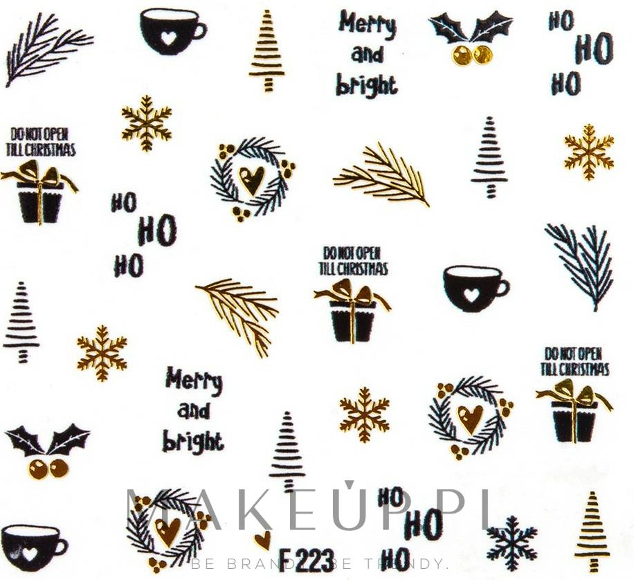 Świąteczne naklejki na paznokcie - Peggy Sage Christmas 2020 — фото 141237