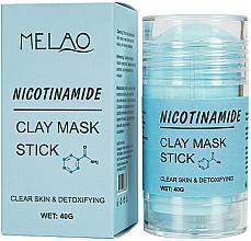 Kup Glinkowa maska w sztyfcie do twarzy Nikotynamid - Melao Nicotinamide Clay Mask Stick