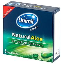 Kup Prezerwatywy, 3 szt. - Unimil Natural Aloe