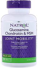 Kup Suplement diety Glukozamina, chondroityna i MSM - Natrol Glucosamine, Chondroitin & MSM