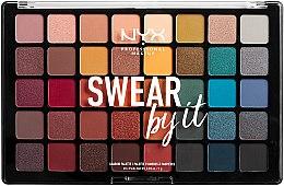 Paletka cieni do powiek - NYX Professional Makeup Swear by It Shadow Palette — фото N1