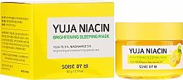 Kup Rozjaśniająca maska do twarzy na noc - Some By Mi Yuja Niacin Brightening Sleeping