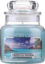 Kup Świeca zapachowa w słoiku - Country Candle Tropical Waters