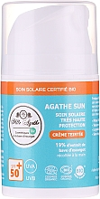 Kup Krem przeciwsłoneczny ze śluzem ślimaka - Mlle Agathe Sun SPF 50+