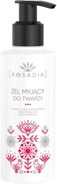 Żel myjący do twarzy - Rosadia