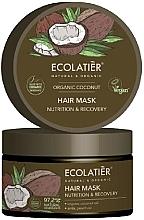 Kup Maska do włosów Odżywienie i regeneracja - Ecolatier Organic Coconut Hair Mask