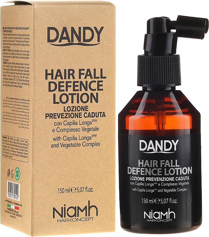 PRZECENA! Ochronny lotion przeciw wypadaniu włosów dla mężczyzn - Niamh Hairconcept Dandy Hair Fall Defence Lotion * — фото N1