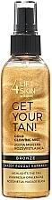 Kup Złota mgiełka rozświetlająca do ciała - Lift4Skin Get Your Tan! Gold Glowing Mist
