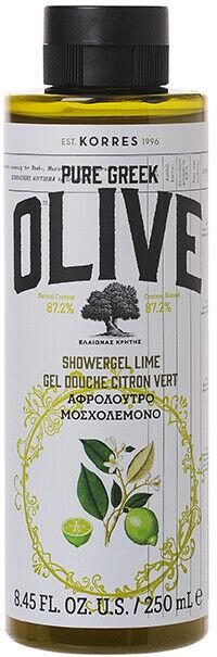 Żel pod prysznic Oliwka i limonka - Korres Pure Greek Olive Lime Shower Gel — фото N1