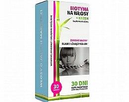 Kup Biotyna na włosy + krzem - Noble Health