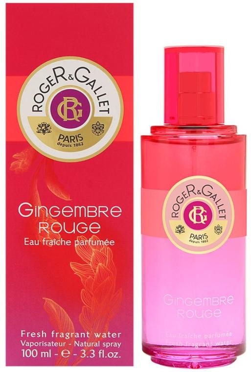 Roger & Gallet Gingembre Rouge - Odświeżająca woda zapachowa — фото N3