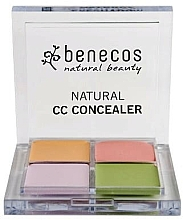 Kup Paleta korektorów do twarzy - Benecos Natural CC Concealer