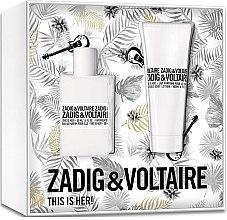 Kup Zadig & Voltaire This is Her - Zestaw (edp 50 ml + b/lot 100 ml)