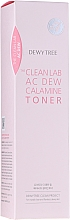 Kup Tonik do twarzy regulujący wydzielanie sebum z pudrem kalaminowym - Dewytree The Clean Lab AC Dew Calamine Toner