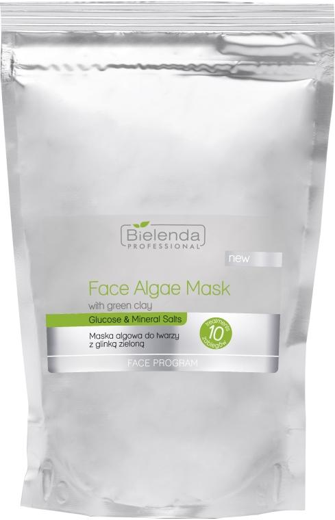 Algowa maska do twarzy z glinką zieloną - Bielenda Professional Algae Face Mask With Green Clay