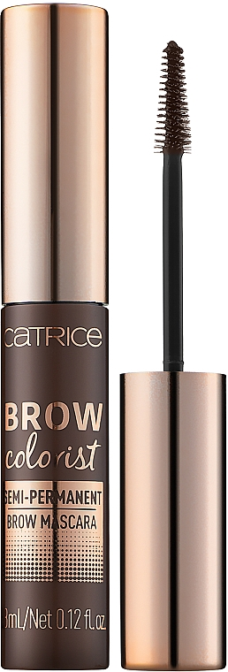 Semi-permanentny tusz do brwi - Catrice Brow Colorist Semi-Permanent Brow Mascara