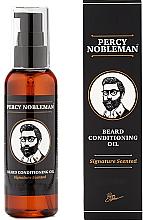 Kup Nawilżający olejek kondycjonujący do brody - Percy Nobleman Signature Beard Oil Scented