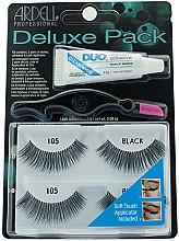 Kup Zestaw sztucznych rzęs z klejem i aplikatorem - Ardell Deluxe Pack Lashes #105 With Applicator