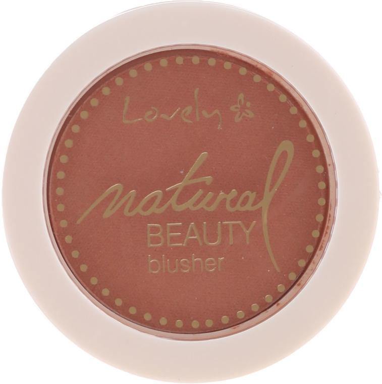 Róż do policzków - Lovely Natural Beauty Blusher