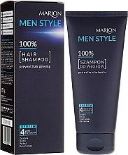 Kup Szampon do włosów dla mężczyzn przeciw siwieniu - Marion Men Style Shampoo Against Greying