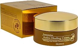 Kup Odżywczy krem do twarzy z bąbelkami aktywnego tlenu - Deoproce Fermentation Active Healing Cream