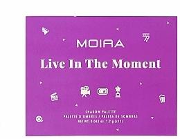 Kup Paleta cieni do powiek - Moira Live In The Moment Eyeshadow Palette