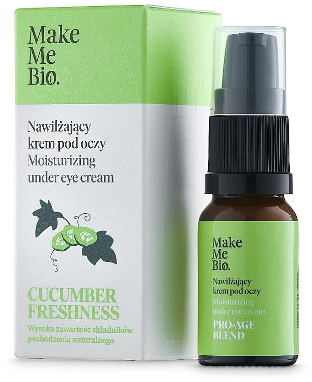 Krem pod oczy z witaminą E i ekstraktem z ogórka - Make Me Bio