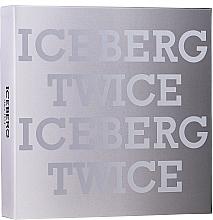 Kup Zestaw dla mężczyzn - Iceberg Twice Homme (edt 125 ml + acs)