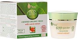 Kup Certyfikowany organiczny krem z ekstraktem z marchwi 30+ - AVA Laboratorium Eco Garden