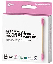 Kup Patyczki bambusowe do uszu - The Humble Co. Cotton Swabs Pink