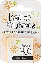 Kup Balsam do ust Brzoskwinia - Marilou Bio Certified Organic Lip Balm Peach