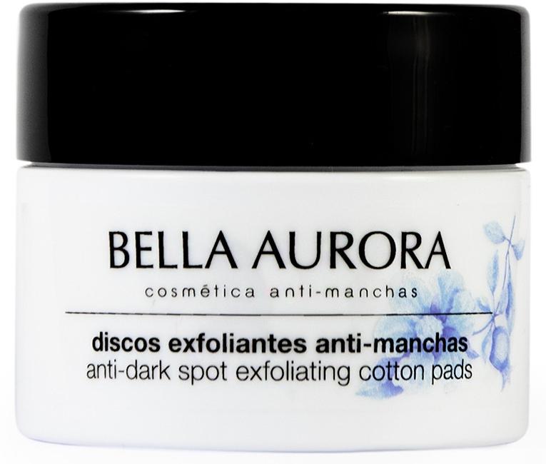 Złuszczające płatki do twarzy przeciw plamom pigmentacyjnym - Bella Aurora Anti-Dark-Spot Exfoliation Cotton Pads — фото N1