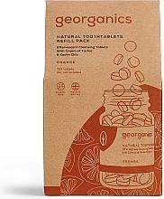 Kup Naturalne tabletki do płukania jamy ustnej Pomarańcza - Georganics Natural Toothtablets Orange (uzupełnienie)