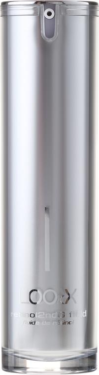 Fluid do twarzy na bazie komórek macierzystych - LOOkX Retinol2ndG Fluid — фото N2