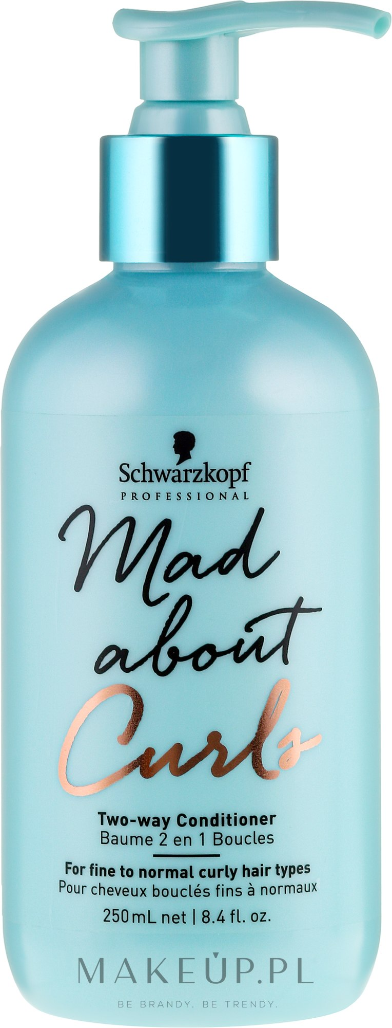 Odżywka do włosów cienkich i normalnych - Schwarzkopf Professional Mad About Curls Two-way Conditioner — фото 250 ml